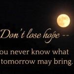 Hope อย่าหมดหวัง