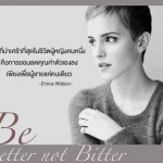 Let the past make you better, not bitter